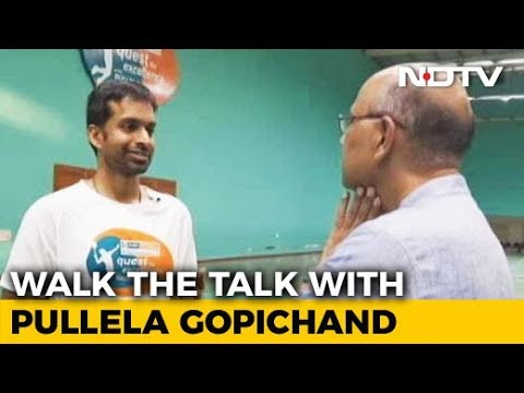 Walk The Talk With Pullela Gopichand