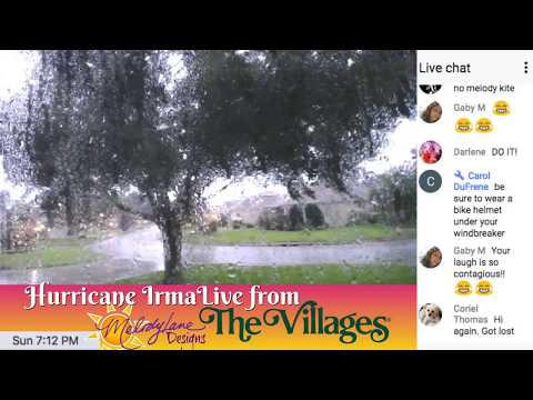 Hurricane Irma Live From The Villages