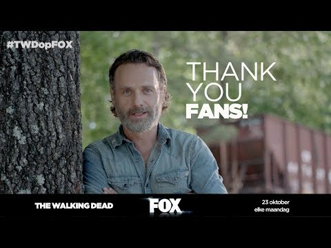 THE WALKING DEAD | Een cast THANK YOU | FOX