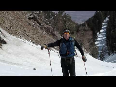Skiing Mt Ellen -- Henry mtns, Utah
