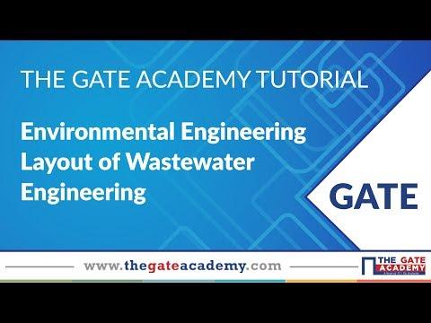 Layout of Wastewater Engineering | Environmental Engineering | CE