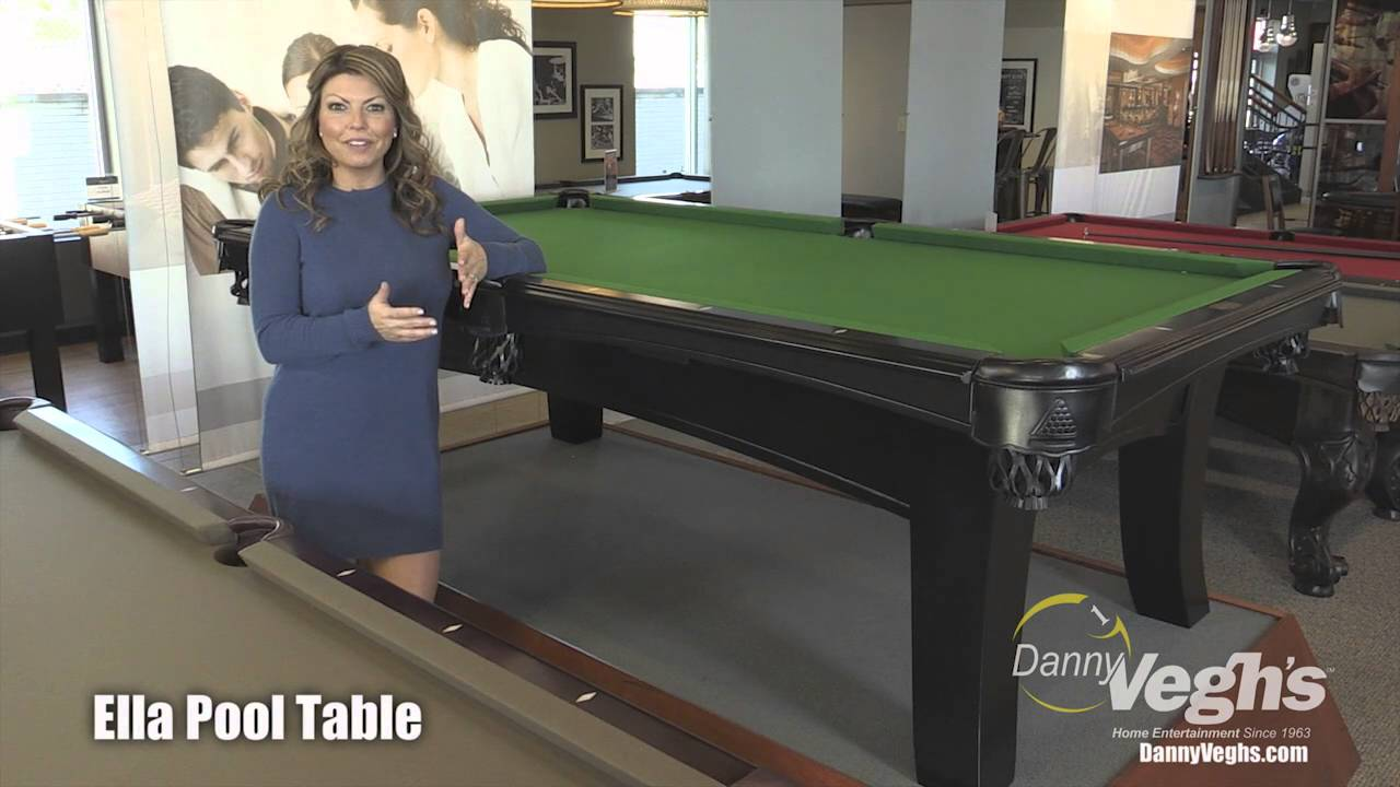 Ella Pool Table YouTube - Ella pool table