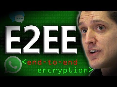 End to End Encryption (E2EE) - Computerphile