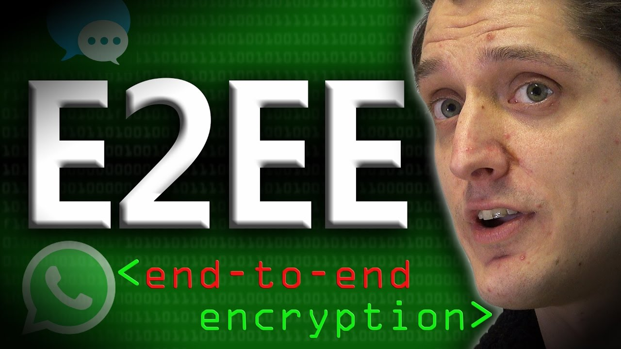 Download End to End Encryption (E2EE) - Computerphile