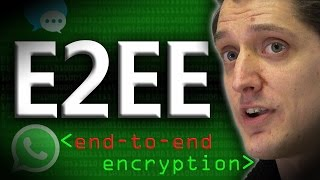 End to End Encryption (E2EE) - Computerphile