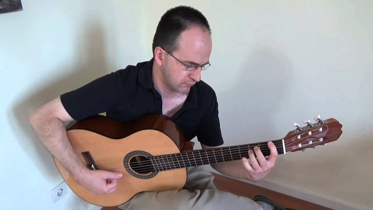 Guitarra admira youtube for Guitarra admira