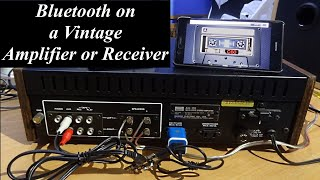 How to use Amplifier Switched & Unswitched Sockets for Mp3 Player, Bluetooth, Turntable , Cassette