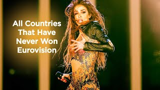 All Countries That Have Never Won Eurovision