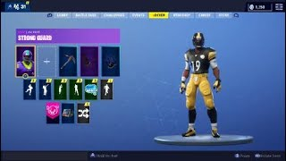 *New* NFL Football Skins in Fortnite Battle Royale