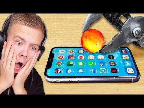 Avive REAGIERT auf *1,000 Grad* heißer Ball VS iPhone 11 😱