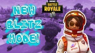 NEW FORTNITE BLITZ MODE IS HERE!