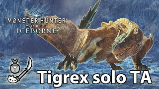 MHWorld Iceborne Beta Tigrex Solo TA Insect Glaive 7 16 No Mantle No Cat No Traps