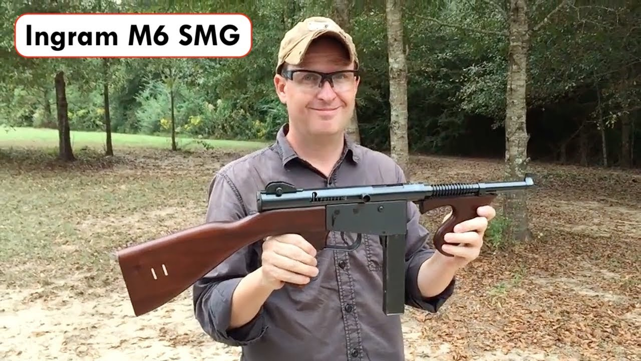 The US Air Force Still Has At Least One MAC-10 Submachine Gun - The