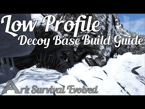 Low Profile Raided Decoy PVP Base | Build Guide | Ark: Survival Evolved