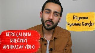 Ders Çalışma İsteğinizi Arttıracak Video| Rüyasına Uyanmış Gençler #motivasyon