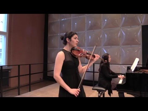Rimma Benyumova - M.Ravel Violin Sonata No. 2 Movt. II