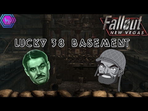 Inside The Lucky 38 Basement (Behind The Force Field) | Fallout: New Vegas