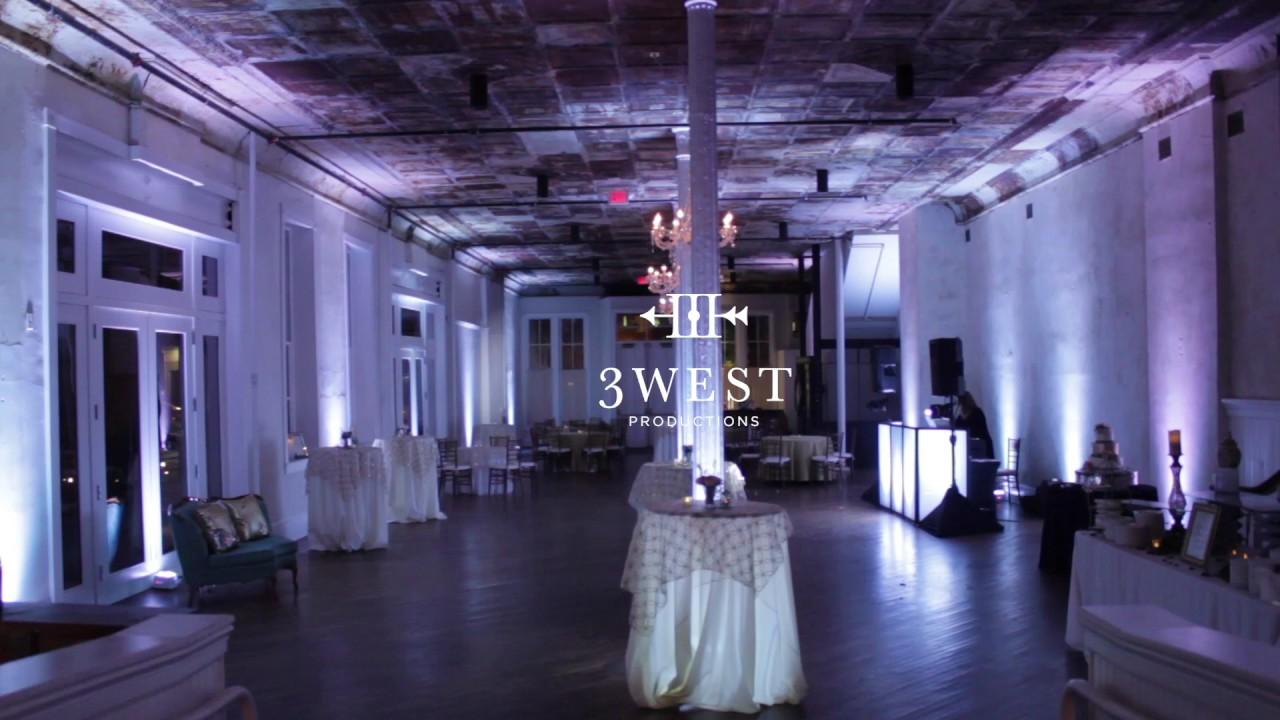 Uplighting Intelligent Dance Floor Lighting By 3 West Productions