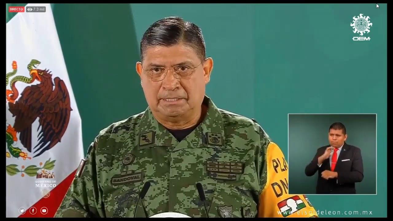 General Luis Cresencio Sandoval González, pide  a las autoridades de procuración de justicia