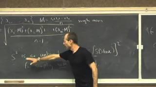 Statistics 21 - Lecture 21