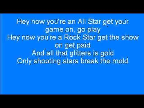 smash mouth - all star [LYRICS+MP3 DOWNLOAD]