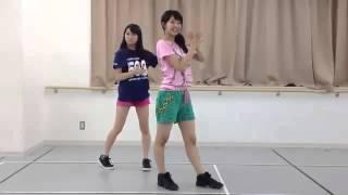 NMB48加藤夕夏teamBⅡの騙されちゃっテレビ! カモネギックスの振り付け withこのみん]