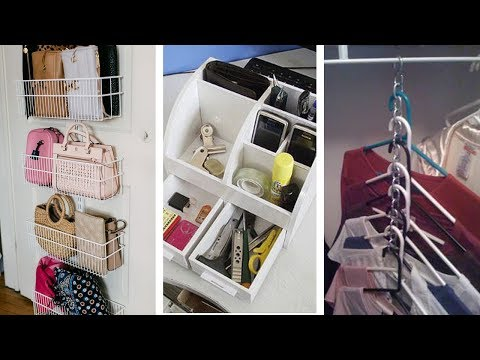 22 Small Closet Organizing Ideas