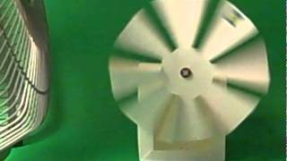Wind Turbine Design: Comparison of 4 Versus 8 Blades