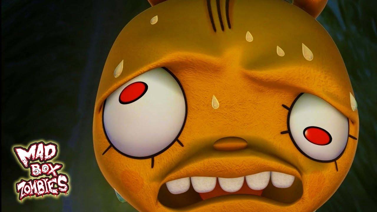 Kartun Zombie Buffa Menyelamatkan Lisfer Mad Box Zombies YouTube