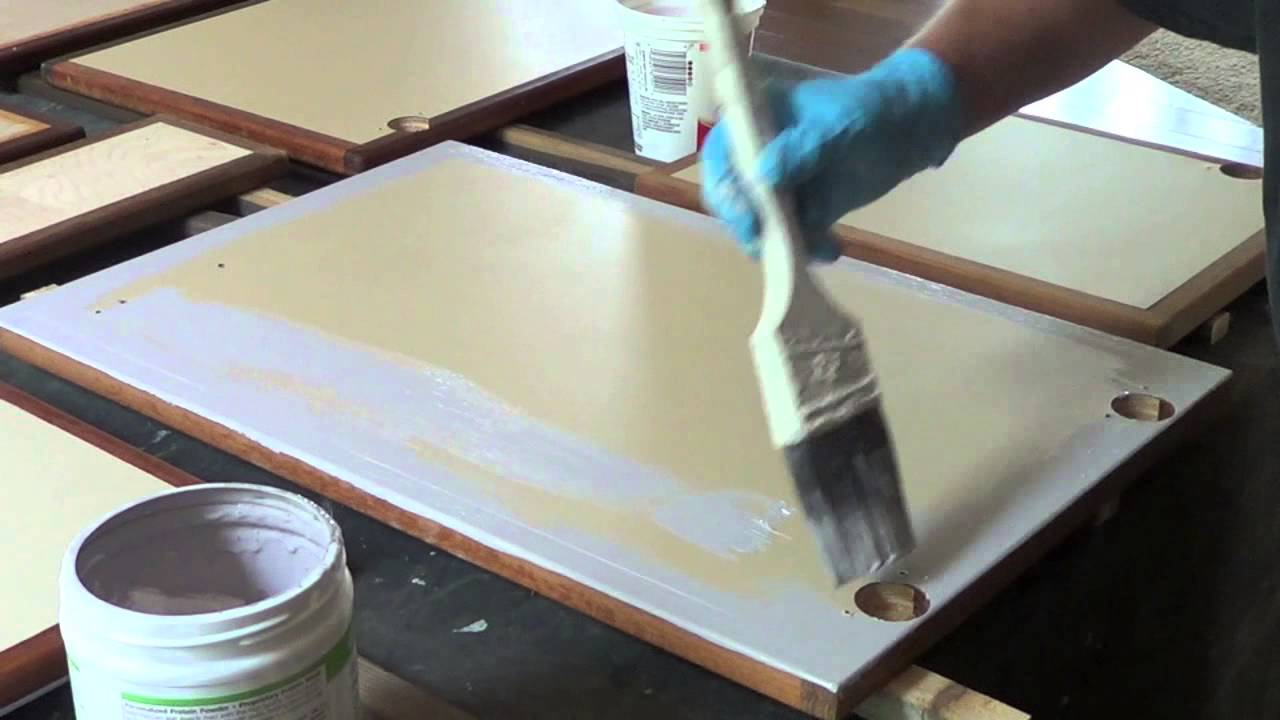 Painting Kitchen Unit Doors How To Use Chalk Paint On Cabinet Faces Youtube