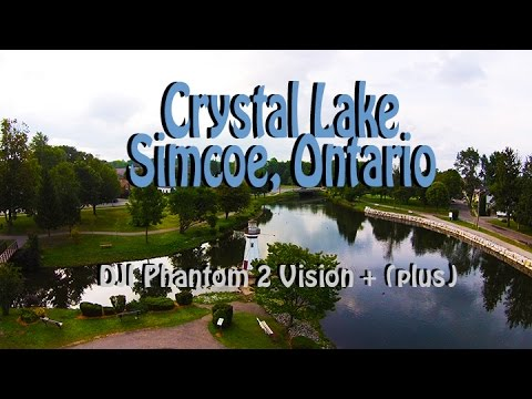 hd drone fly by 39 s crystal lake simcoe ontario dji. Black Bedroom Furniture Sets. Home Design Ideas