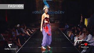 VASILIJE KOVACEV Spring Summer 2017 | ArtHeartsFashion New York | Fashion Channel