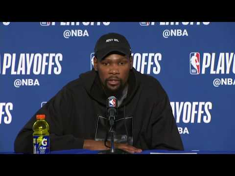 Kevin Durant Postgame Interview Pelicans Vs Warriors Game 5 Youtube
