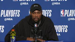 Kevin Durant Postgame Interview | Pelicans vs Warriors Game 5