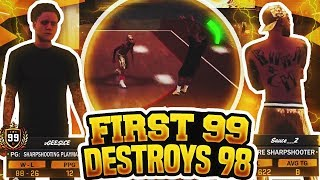 Video FIRST 99 OVERALL ANKLE BREAKS A 98 OVERALL AND DESTROYS HIM! GEESICE NBA 2K18 GAMEPLAY! ANTE UP! download MP3, 3GP, MP4, WEBM, AVI, FLV Juli 2018