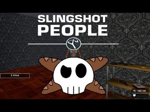 Slingshot People- A Truly Lazy Gameguru Game |