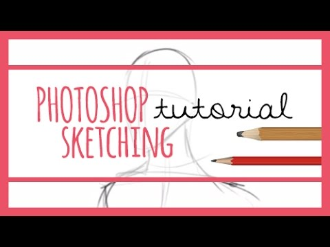 how to make a sketching brush in photoshop