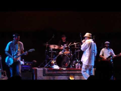 Elan Atias performs Dreams Come True at Pavlic Pavilion In McCarthur Park Los Angeles CA