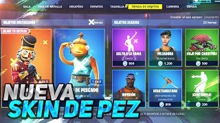 NEW SKIN OF FISH! DRAW graffiti exclusive shop FORTNITE December 27