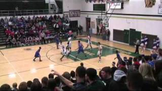Iowa Boys Sub State Davenport Central @ Iowa City West 3rd quarter 2-25-2011