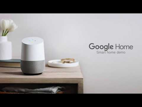 Google Home demo with Xiaomi Yeelight, D-Link Smart Plug, iKettle2 and more