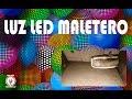 Luz led Maletero