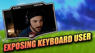 NICKMERCS *EXPOSES* CHEATER USING KEYBOARD IN CONSOLE TOURNAMENT! - FORTNITE