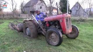 Tractors IMT 539 stuck in the mud