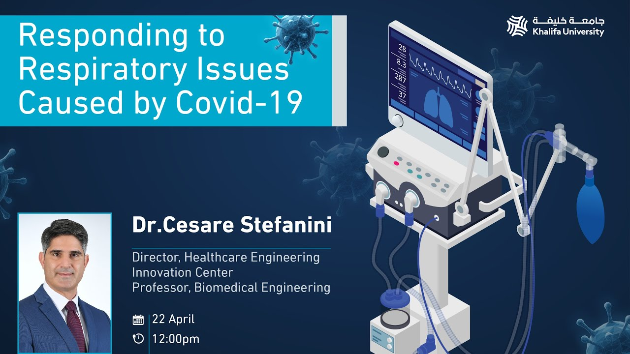Live Virtual Talk By Dr Cesare Stefanini On How Covid Affects The