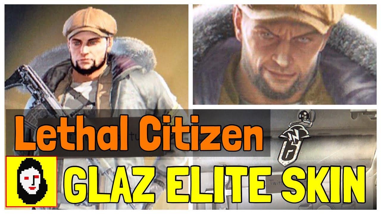 *NEW* GLAZ ELITE SKIN NEXT SEASON?! Lethal Citizen - Rainbow Six Siege News  - Operation Wind Bastion