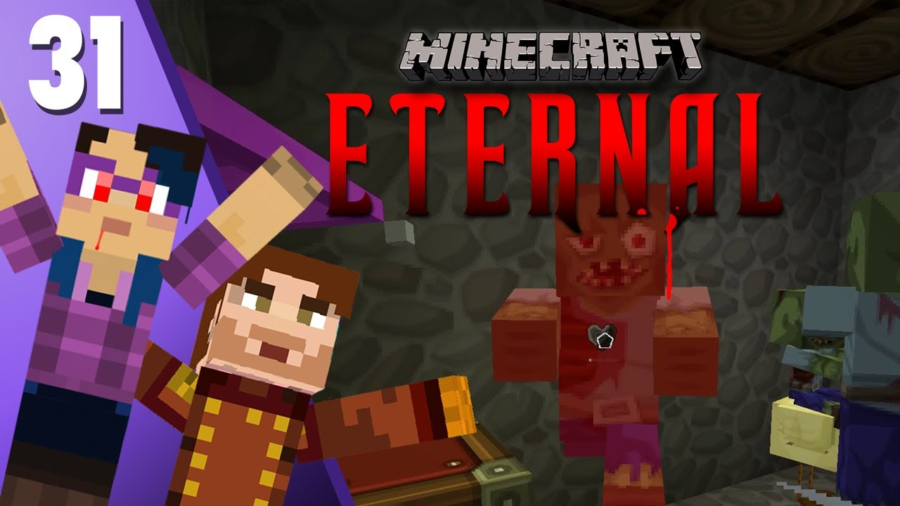 Zombie Chunks - Minecraft: MC Eternal Modpack #9 - Married Strim Server