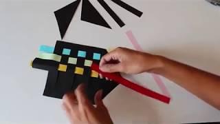 יצירת סביבון צבעוני