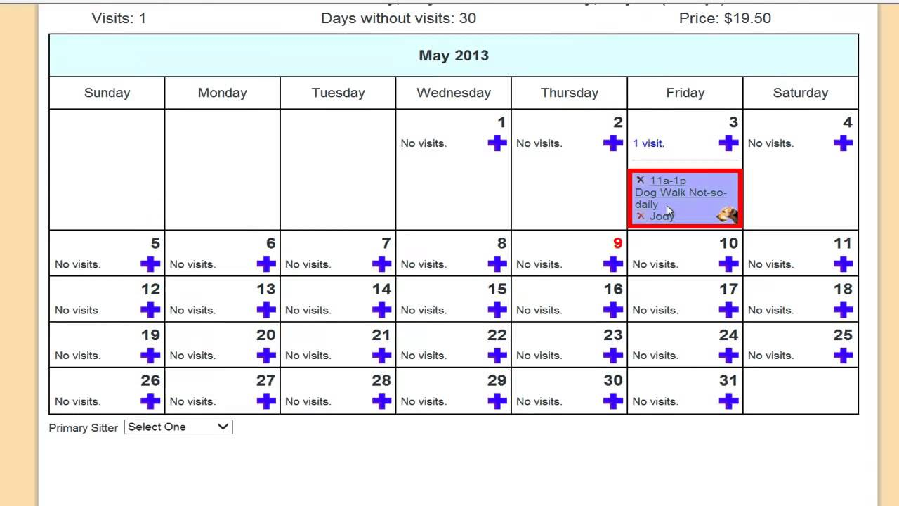 Jody's Treat of the Week: How to Copy and Paste visits in LeashTime EZ Schedules.
