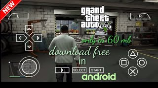 [only in 60mb] download GTA 5 in android